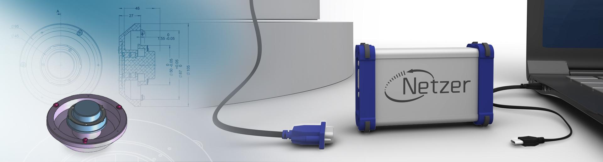 Netzer NANOMIC CONVERTER with rotary encoder